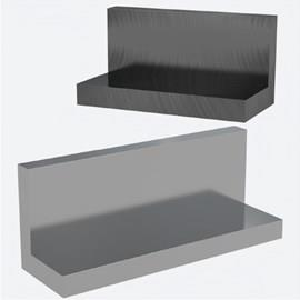 Cast Iron & Aluminum L-Section