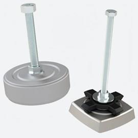 Anti-Vibration Leveling Feet