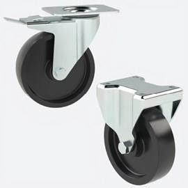 High or Low Temperature Castors (Phenolic Resin)