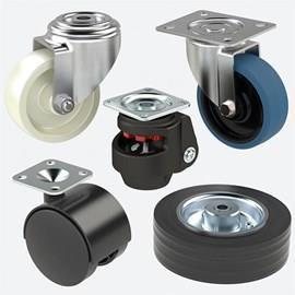 Castors Wheels & Trolley Wheels