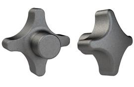 Hand Knob - Cast Iron - Imperial - Blank (WDS 100)