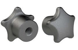 Hand Knob - Metric - Tapped - Cast Iron (WDS 104)