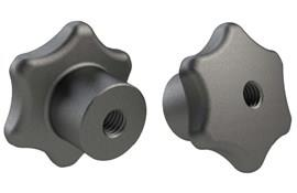 Hand Knob - Cast Iron - Imperial - BSW or UNC (WDS 107)