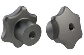 Hand Knob - Cast Iron - Metric (WDS 107)