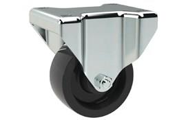 Top Plate Fitting Fixed Casters - Phenolic Resin Wheel (WDS 12187)