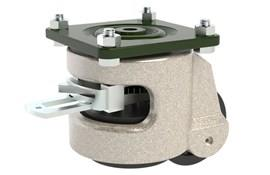 Plate Fitting Leveling Casters - Ratchet Operated (WDS 12201)