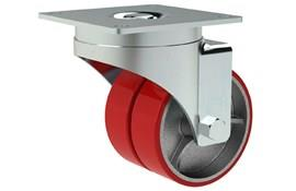 Heavy Duty Twin Wheel Casters - Four Ball Bearings (WDS 12321)