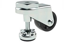Adjustable Height Leveling Casters - Stem Fitting Finger Operated (WDS 12396)