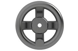 Cast Iron Hand Wheel - Dished - Imperial (WDS 130)
