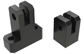 Plastic Mounting T-Clamps 12mm Hole (WDS 440)