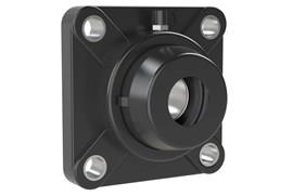 4-hole Bearing Housing with Steel Bearing and Through Hole Cover (WDS 444)