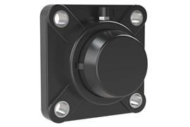 4-hole Bearing Housing with Stainless Steel Bearing and Blind Cover (WDS 444)