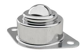 Ball Roller - Surface Mounting 2 Hole Fitting - Stainless Steel (WDS 566)