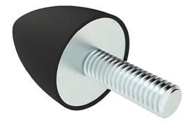 Male Conical Rubber Stop (WDS 715)