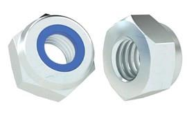 Zinc Plated Metric Nyloc Nut - DIN 982 P-Type (WDS 775)