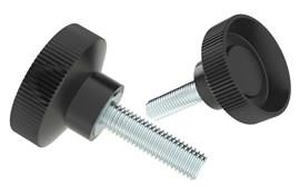 Thumb Screw - Bakelite with Steel Zinc Plated Screw (WDS 8198)