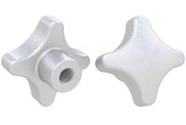 Threaded Hand Knob - Imperial Inch 316 Stainless Steel Matt Finish (WDS 8205)