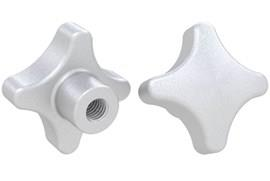 Hand Knob Threaded - 316 Stainless Steel Matte Finish (WDS 8205)
