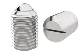 Ball Spring Plungers - Threaded - Stainless Steel (WDS 823)
