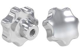 Threaded Hand Knob - Imperial Inch 316 Stainless Steel (WDS 8321)