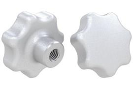 Threaded Hand Knob Imperial Inch - 316 Stainless Steel Matt Finish (WDS 8321)