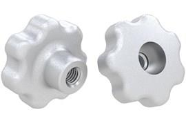 Lobed Hand Knob Counter Bored - 316 Stainless Steel Matt (WDS 8321)