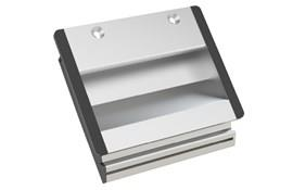 Aluminum Tray Handle with Screw Mounting - Anodized Natural (WDS 8557)