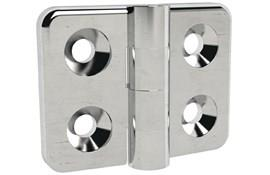 316 Stainless Steel Countersunk Hinge - Polished Finish (WDS 8605)