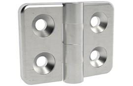 316 Stainless Steel Countersunk Hinge - Matt Finish (WDS 8605)