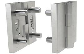 Stainless Steel Surface Mount Hinge with Studs - Matte Finish (WDS 8625)