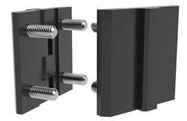 Polyamide Surface Mount Hinge with Studs (WDS 8627)