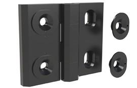 Adjustable Hinge Non-Detachable - Zinc Die Cast (WDS 8635)