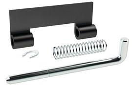 Steel Spring Release Hinge Kit - Chemi-Blacked Housing (WDS 8658)