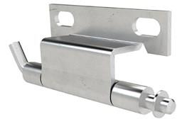 Stainless Concealed Hinge with Pin - Weld and Fastener Mount (WDS 8676)