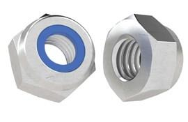 316 Stainless Steel A4 Metric Nyloc Nut - DIN 982 T-Type (WDS 875)