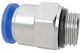 Straight Connector 1/4 BSP 10MM Tube - Male Threaded (SF-15060)