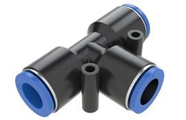 Tee Plastic Connector 10MM Tube (SF-15060)