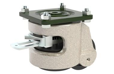 Plate Fitting Levelling Castors - Ratchet Operated (WDS 12201)