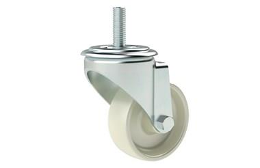 Stud Fitting Swivel Castors with Nylon Wheel (WDS 12309)