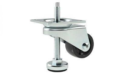 Adjustable Height Levelling Castors - Plate Fitting Spanner Operated (WDS 12396)
