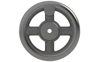 Cast Iron Hand Wheel - Flat - Imperial (WDS 130)