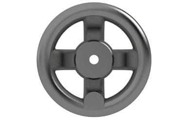 Cast Iron Handwheel - Dished - Imperial (WDS 130)