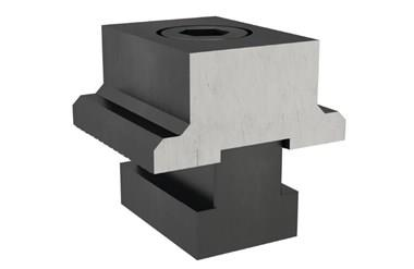 OK Vise Stop Block - Flanged (WDS 241)