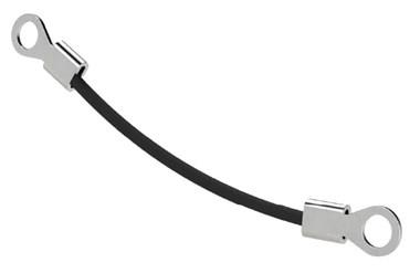 Stainless Steel Retaining Cable with Black Sleeve (WDS 250)