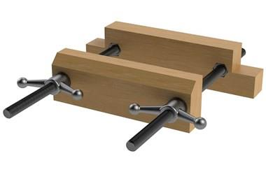 Moxon Vise Hardware Kit - Ball Handles (WDS 3600)