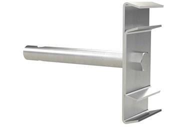 Double Cone Clamp - Stainless steel with Rod (WDS 436)