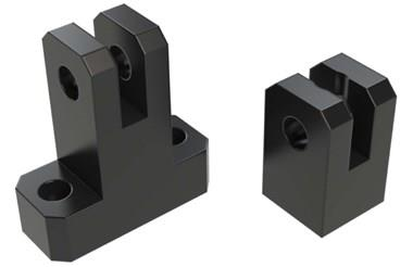 Plastic Mounting T Clamps 12mm Hole (WDS 440)