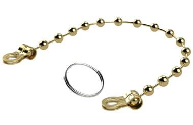 Retaining Chain and Key Ring (WDS 510)