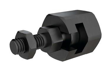 Quick Fit Linear Coupling - Radial Offset Male Threaded Bolt Female Receiver (WDS 557)