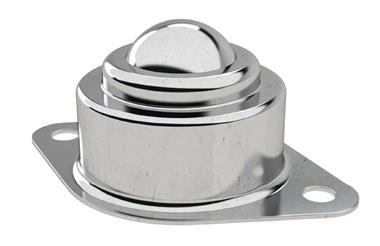 Ball Transfer Unit - Surface Mounting 2 Hole Fitting - Stainless Steel (Ball Rollers) (WDS 566)
